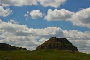 Approaching Castle Butte