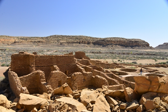 Chaco Canyon view