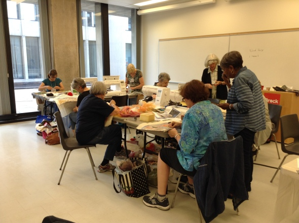 """""""Capture the Essence"""" was a three day workshop - the first 3-day class in Quilt Canada history."""