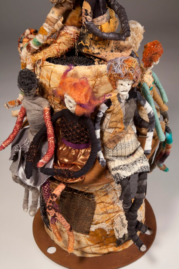 Scrapyard Couture by Joanne Young, 2011, detail