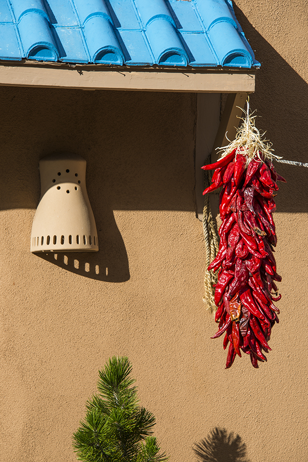 We arrived in Santa Fe during the annual Chili and Wine Festival.