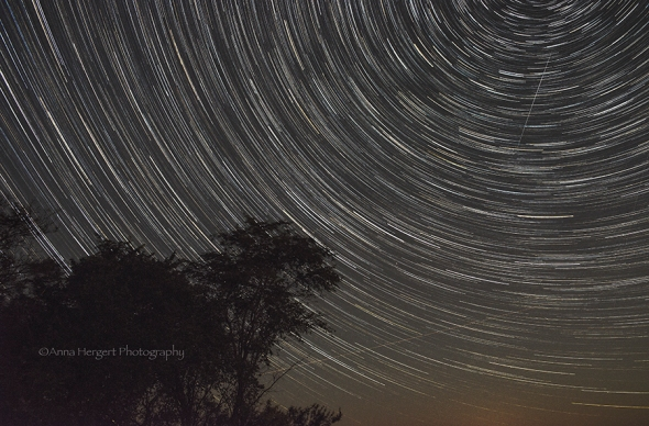 Sept.14 Star trails_ 91 images stacked