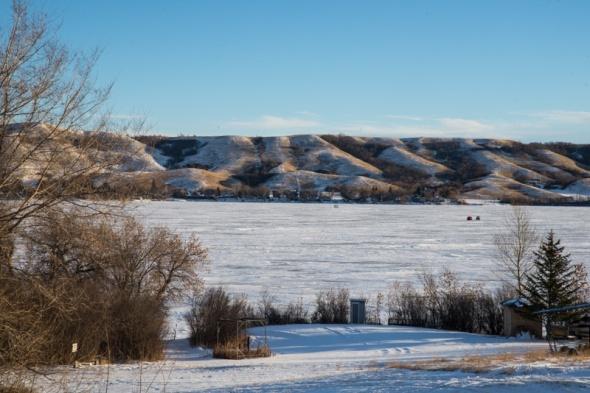 Buffalo Pound Lake view