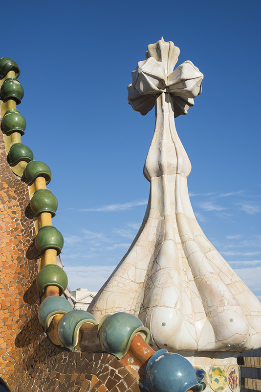 ...particularly the architecture of Antoni Gaudi.