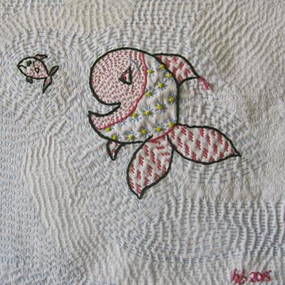 Kantha fish_detail