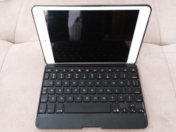 "Step 1: Take a boring looking black iPad keybord case... Mine was black and I never liked it very much. I suppose it is considered ""understated"" and deters unwanted interest..."