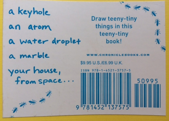 book cover back