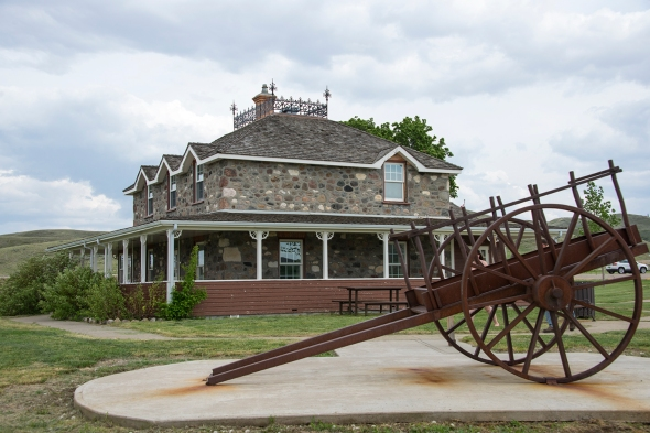 Goodwin House and Metis Cart