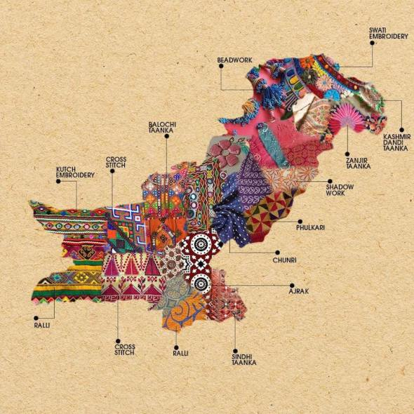 Pakistan-Embroidery-Map